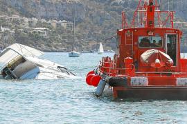 Un yate de 15 metros se hunde en el Port d'Andratx