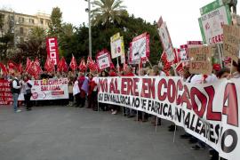 Trabajadores de Coca-Cola consideran «insuficiente»  la propuesta de la empresa para recuperar empleo