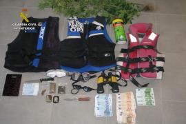 Tres detenidos por diferentes robos en el Club Náutico de Calvià