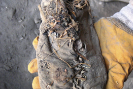 Descubren el zapato de cuero más antiguo  del mundo en Armenia, de 5.500 años