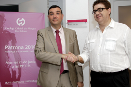 García y Bennàsar se disputan hoy la presidencia del Colegio de Médicos