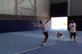 Nadal sigue trabajando para llegar en forma al US Open