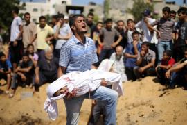 La ofensiva israelí en Gaza ha dejado más de 400 niños muertos