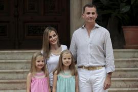 Felipe VI en Marivent: «Mallorca es un trozo de cielo en la tierra»