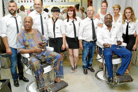 Donde la barbería y el jazz se unen