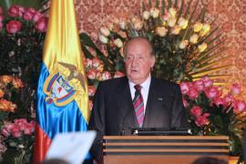 El rey afirma que ha sido ido un «privilegio» representar a España