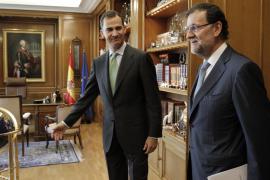 Rajoy mantendrá este viernes su primer despacho con Felipe VI en Marivent