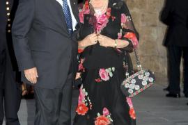 PALMA RECEPCION DE LOS REYE A LA SOCIEDAD EN LA ALMUDAINAFOTO JULIA