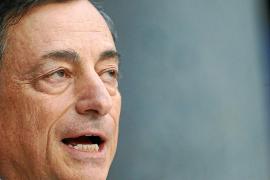 Draghi ve peligrar el crecimiento