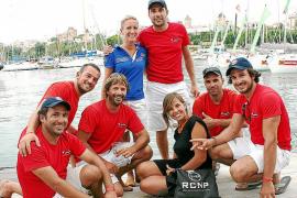 Fiesta de regatistas de la Copa del Rey de Vela