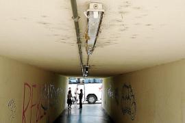 SFM no reabrirá el apeadero de Crist Rei en Inca y descarta vigilar los pasos soterrados del tren