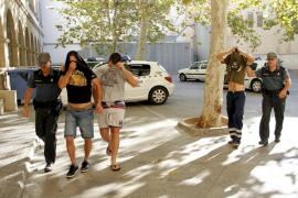 Cinco detenidos en dos operaciones contra el cultivo de marihuana en Inca, Llucmajor y Sóller
