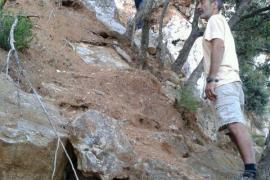 Rescatan a un hombre atrapado en el Puig des Moro