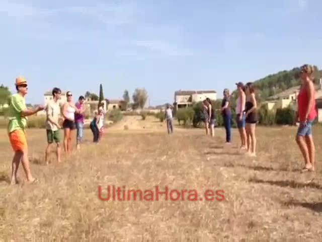 Son Macià se divierte a lo grande con pruebas y juegos en la Festa Pagesa