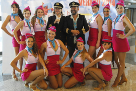 Santiago Segura y José Corbacho, a los mandos del vuelo Madrid-Las Vegas