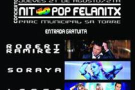 Música comercial en la 'Nit 40 Pop'