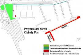 El Club de Mar invertirá 60 millones para modernizarse y abrirse a la ciudad