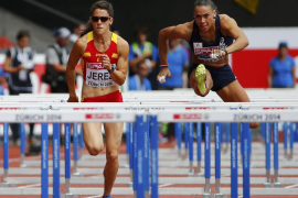 Caridad Jerez se queda fuera en la primera ronda de 100 metros vallas