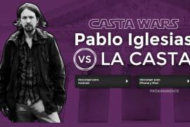 Pablo Iglesias es el protagonista del videojuego Casta Wars