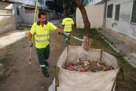 Los nuevos operarios de limpieza de Emaya deberán pasar unas pruebas físicas