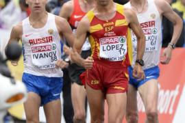 Miguel Ángel López, campeón de Europa de 20 kilómetros marcha