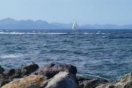 velero en Mallorca