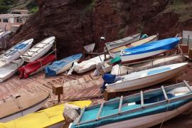 Barcas de pesca en el Port des Canonge