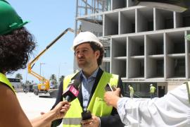 Garau: «Las obras estarán a pleno rendimiento a finales de septiembre»