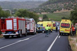 Un fallecido en accidente de tráfico en la carretera de Pollença