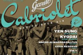 Garito Cabriolet, fiesta Open Air con Yen Sung y Kyodai