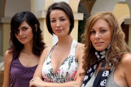 María José Besora, María Reyes y Raquel Rodríguez coinciden en Mallorca