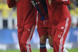 Javi Martínez sufre la rotura del ligamento cruzado de la rodilla izquierda
