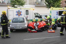 Detenido un conductor bebido que arrolló y mató a una mujer en la calle Aragón de Palma