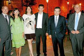 Recepción de los Reyes en el Palau de l'Almudaina