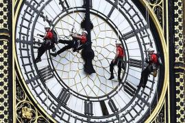 Las agujas del Big Ben se detienen cuatro días para permitir su limpieza
