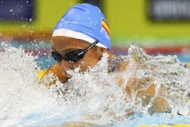 Mireia Belmonte se cuelga la plata en los 400 estilos