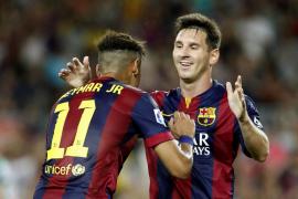 El Barça golea a un desmotivado Club León