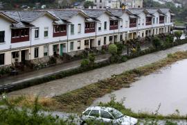 Las lluvias provocan la muerte de una mujer, un desaparecido y daños en Lugo