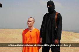 El Estado Islámico difunde la ejecución de un periodista de EEUU