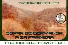 'Trobada del 23': cena, OVNIS y excursión al Gorg Blau