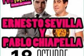 Ernesto Sevilla y Pablo Chiapella, dispuestos a inundar de risas el Trui Teatre