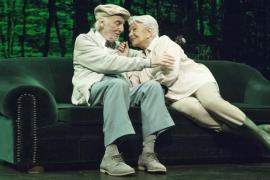 Héctor Alterio y Lola Herrera coinciden en Palma con 'En el estanque dorado'