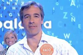 Paco de Benito gana un bote de 362.000 euros en 'Pasapalabra'