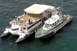 Continúa la campaña de inspecciones de las 'party boats' en Balears
