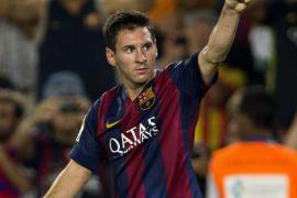 El nuevo Barça tira del viejo Messi