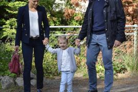 La Princesa Estela de Suecia comienza la guardería
