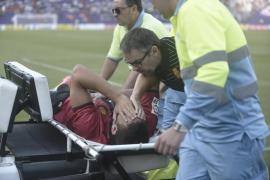 Pedro Bigas sufre un esguince grave en la rodilla izquierda