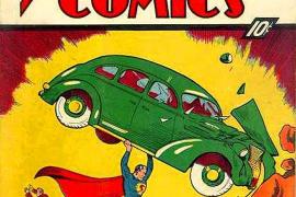 Venden el primer cómic de Superman por 2,4 millones de euros