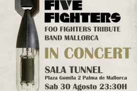 Five Fighters, un tributo a Foo Fighters