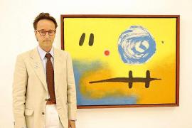 Joan Punyet Miró lleva a Menorca la obra de su abuelo con 'La llum de nit'